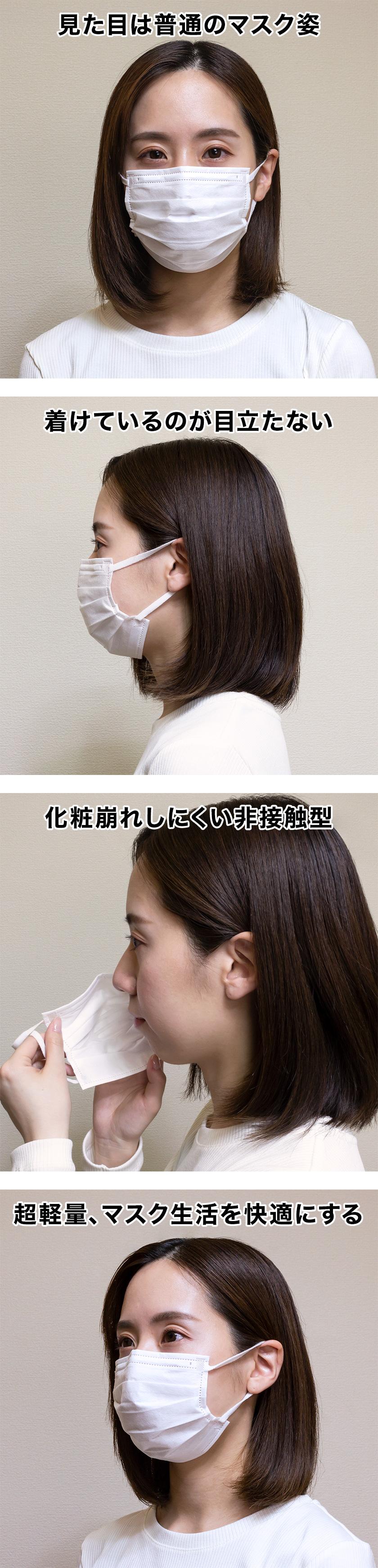 マスク装着時正面